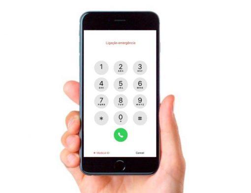 modo de emergência no celular
