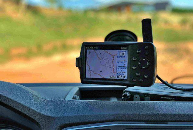 equipamentos de gps para off road