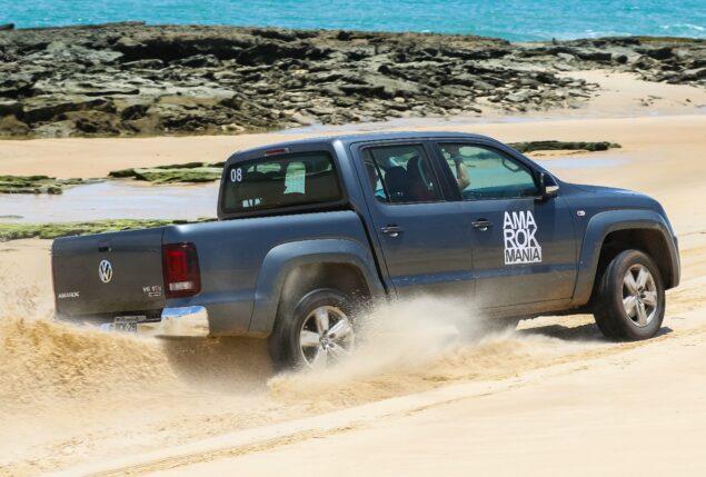 dirigir na areia